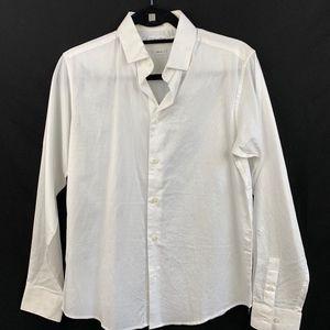 Calvin Klein Boys White Dress Shirt - 16